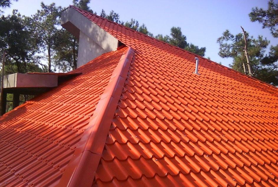 پوشش سقف برای جلوگیری از از ورودی ذرات گرد و غبار بر روی نمای ساختمان  استفاده می شود.