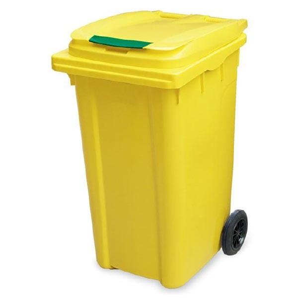 سطل زباله با متریال های مختلفی تهیه می شود.