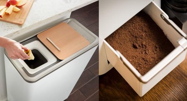 در دستگاه کومپوستر، زباله ها مجددا به خاک های قدرتمند تبدیل می شوند