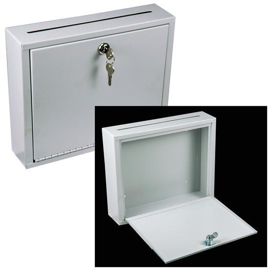 صندوق پستی که در پشت درب ورودی ساختمان نصب می شود، در خانه های ویلایی در معرض برف و باران قرار می گیرد.