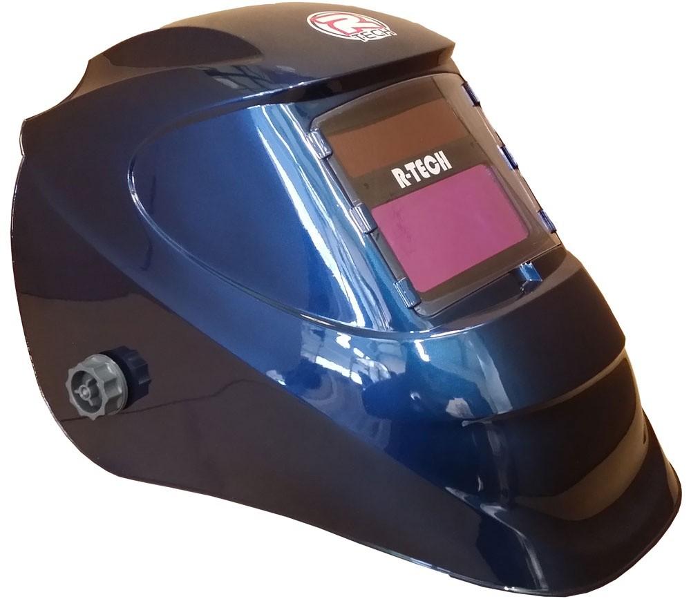 نقاب شیشه ای یا ماسک جوشکاری برای جلوگیری از تابش اشعه های مضر بر روی چشم کاربرد دارد.
