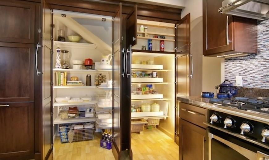 زمان نصب کمدها و کابینت های آشپزخانه قفسه بندی آنها ضرورت دارد