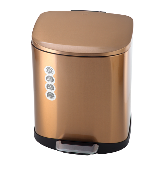 سطل زباله برای آشپزخانه، سرویس بهداشتی، حمام، پارکینگ، حیاط و .... کاربرد دارد.