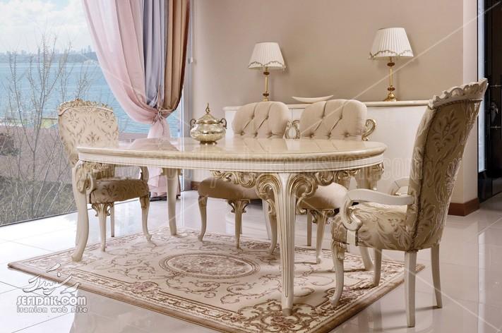 میز غذاخوری برای سالن پذیرایی، نشیمن و یا آشپزخانه استفاده می شود.